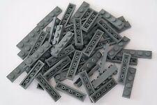 50 Lego Platte Platten 1x4 neu-dunkelgrau NEU 3710