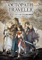 Octopath Traveler Complete Guide Design Material Illustrations Art Book Japan