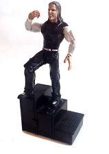"WWE TNA WWF Wrestling JEFF HARDY 6"" poseable toy figure with FLIP STEPS"