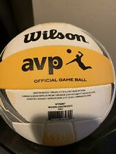 Wilson AVP Official Beach Volleyball Outdoor New This Will Come Deflated