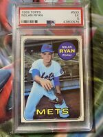 1969 Topps NOLAN RYAN - PSA 5 EXCELLENT - New York Mets HOF