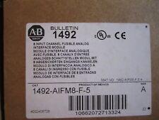 NEW ALLEN-BRADLEY 1492-AIFM8-F-5 FUSIBLE WIRING MODULE 8 INPUT CHANNEL