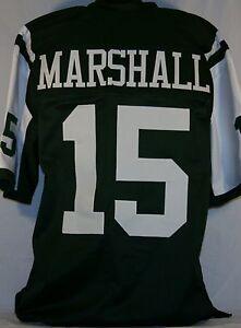 Brandon Marshall Unsigned Custom Green Football Jersey Men's Size XL