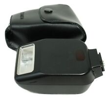 Canon Japan Speedlite 200E Flash Lighting Camera Accessory With Leather Case