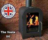 Wood Stove or Multifuel CE Approved January Sale price Made in the UK Vesta V4