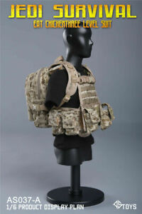 1/6 ASTOYS AS037-A JEDI Survival Eat Chicken Chest Hanger Backpack Model Set