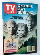 TV Guide Nov 9-15 1991 - Is Network News Crumbling?, Tim Allen, Full House Twins
