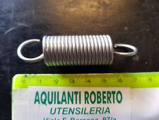 molla a trazione acciaio armonico zincata L70 mm - ø 18mm - filo 2 mm 98167