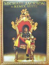 MICHAEL JACKSON 2009 2 sided remix suite promo poster ~MINT condition~!