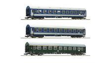 """Roco 64195, 3tlg. Wagenset """"Meridian"""" 1, DR / MAV, Neu und OVP, H0"""