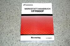 original HONDA VFR 800 F , ab 2014 , RC 79 , RC79 , Werkstatthandbuch ! NEU !