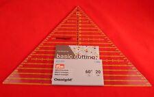 Prym Ominigrid Patchwork-Lineal 60° Dreieck Multi 20 cm