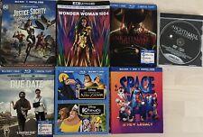Lot Of 6 4K/Blu-ray Slipcovers (Disney/WB/DC) + Nightmare On Elm Street DVD