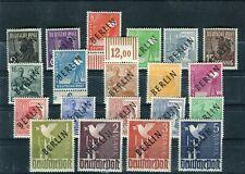Berlin 1-20  Schwarz Aufdruck Satz postfrisch  (26381)