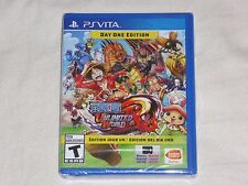 NEW Onepiece Unlimited World Red DAY ONE EDITION PSVITA Game one piece PS VITA