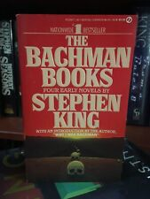 WOW!!! Stephen King The Bachman Books TRUE First Edition $5.95 SIGNET (FINE)