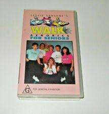 Walk Aerobics For Seniors VHS Pal Leslie Sansone