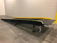 NEW!!  Vestil Yard Ramp- Steel Overlap Style 16,000lb Cap 23-ftL x 66in wide
