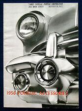 Prospectus Brochure 1956 PONTIAC Accessories * accessoires (USA)