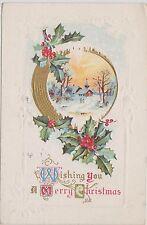 (Wr-31) 1915 Usa 1c Washington postcard Xmas