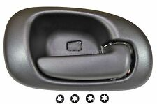 fits Dodge Intrepid Interior Inner Inside Door Handle Passenger Side Rear Black