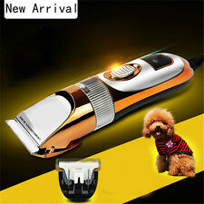 Electric Pet Dog Cat Animal Hair Cutting Clipper Shaver Razor Grooming Trimmer