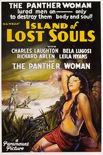 ISLAND OF LOST SOULS 1932 H.G.WELLS DVD-r