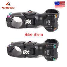 MTB Adjust 120° Stem 25.4/31.8*90/110mm Aluminum+Titanium-plated Road Bike Screw