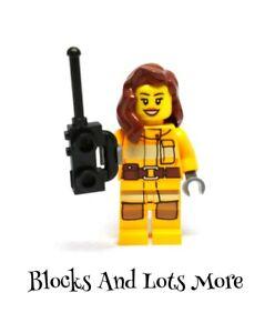 Lego Seasonal - Female Firefighter Figure Day 12 Of 4428 City Advent Calendar