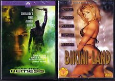 Star Trek: Nemesis (DVD, 2003, Full Frame) & Bikini Land (DVD)