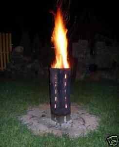 Schwedenfeuer Feuerkorb Gartenfackel Fackel Feuer