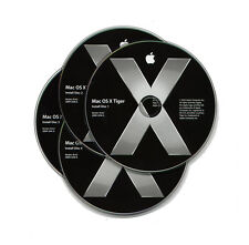 Genuine Sealed NEW Apple Tiger Retail version 10.4.2 on RARE CD's