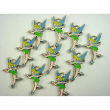10 pcs Tinker Bell TinkerBell Jewelry Making Metal Figures Charms Pendant + CHAR