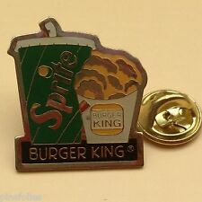 Pin's Folies *** Alimentaire Burger King Sprite