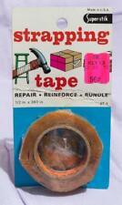 Vintage Super Stik Starpping Tape Packaging Advertising jds