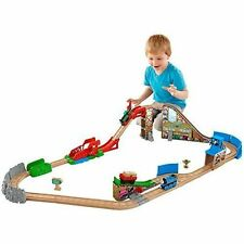 Fisher Thomas & Friends DFW97 Wooden Railway The Great Race Day Relay Set