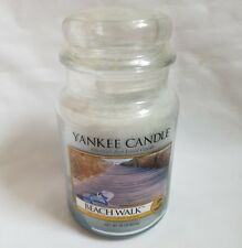 SALE ❀ڿڰۣ❀ YANKEE CANDLE Large BEACH WALK Scented HOUSE WARMER CANDLE JAR ❀ڿڰۣ❀