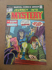 Journey Into Mystery (vol 2) 14 . Marvel 1974 .  VG / FN