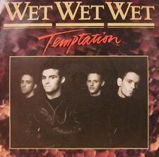 "Wet Wet Wet(7"" Vinyl)Temptation-The Precious Organisation-JEWEL 7-UK-VG/Ex"