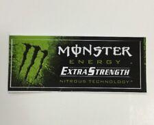 Monster Energy Drink EXTRA STRENGTH Sticker (1) Unused NOS