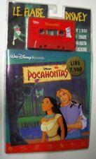 Walt DISNEY Fiaba POCAHONTAS - Musicassetta Tape Sigillato MC K7 + Libro 24 pag.