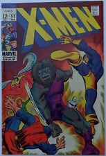 X-Men #53 (Feb 1969, Marvel), VFN-NM, Barry Smith cvr & art (first comic work)