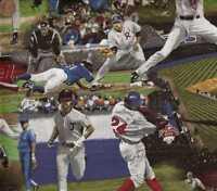 Baseball sports scenes games RJR  fabric
