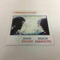 David Sylvian & Riuichi Sakamoto : Forbidden Colours