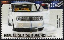 2009 NISSAN CUBE (DENKI) Mini MPV (EV-02) Electric Concept Car Vehicle Stamp