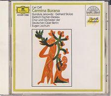 Orff - Janowitz, Stolze, Fischer-Dieskau, Jochum: Carmina Burana (DG) Very Good
