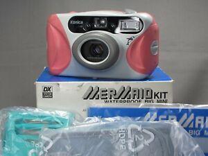 [Unused] Exc+4 Konica Waterproof BIG MINI Mermaid Kit Pink  in Box From JAPAN