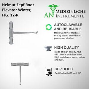 Helmut Zepf Root Elevator Winter FIG.12 R Dental Instrument