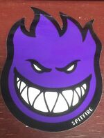 "SPITFIRE, SKATEBOARD STICKER, COLLECTOR SERIES, PURPLE, 6"" x 4-1/4"""