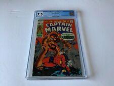 CAPTAIN MARVEL 18 CGC 7.5 CAROL DANVERS GAINS POWERS LATER MS MARVEL COMICS 1969
